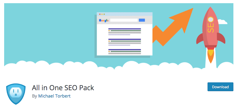 The Top 3 SEO Plugins for WordPress All in One SEO Pack