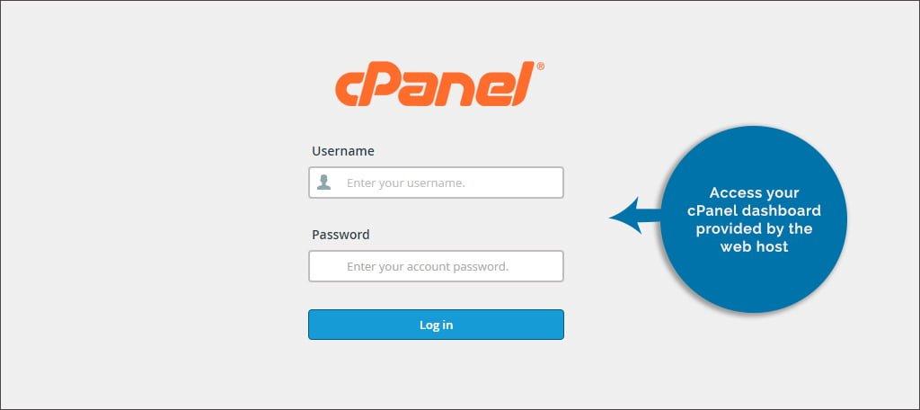 access c panel