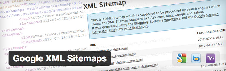 This plugins makes a sitemap for your blog