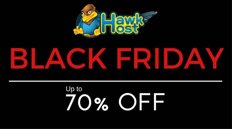 HawkHost Black Friday 2018