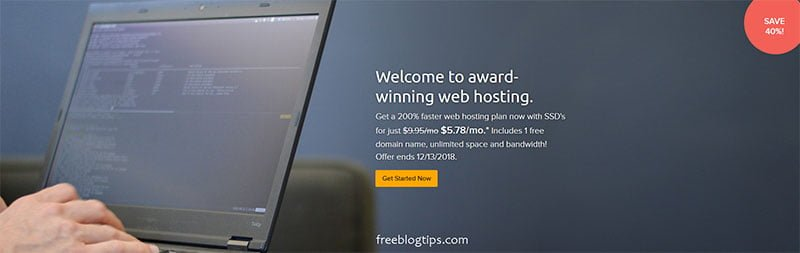 DreamHost Web Hosting Special DreamHost