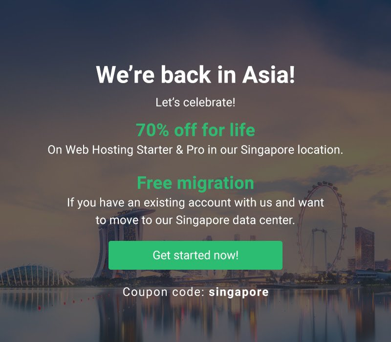 StableHost Asia Singapore