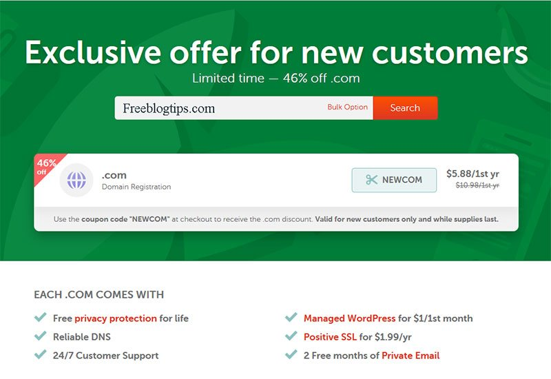 Coupons & Deals – Free Blog Tips